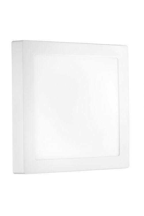 NADGRADNI LED PANEL SLIM (18 W, 1.350 lm, 4.000 K, premer 22,5 cm, višina 3 cm, IP20, beli okvir)