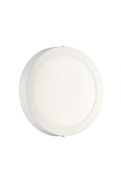 NADGRADNI LED PANEL SLIM (24 W, 1.800 lm, 4.000 K, premer 30 cm, višina 3 cm, IP20, beli okvir)