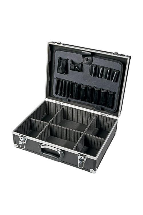 Aluminijast kovček za orodje Wisent Black-Line (15 x 46 x 33 cm)