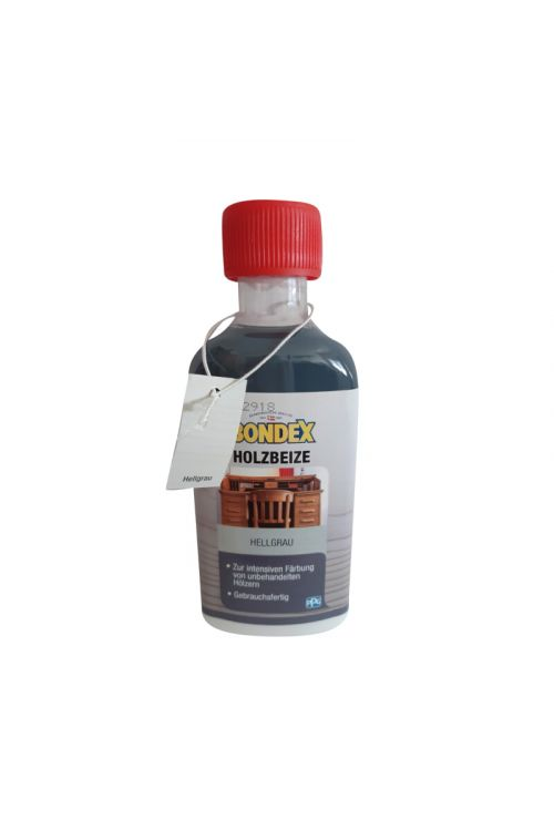 Lužilo za les Bondex (svetlo siva, 250 ml)