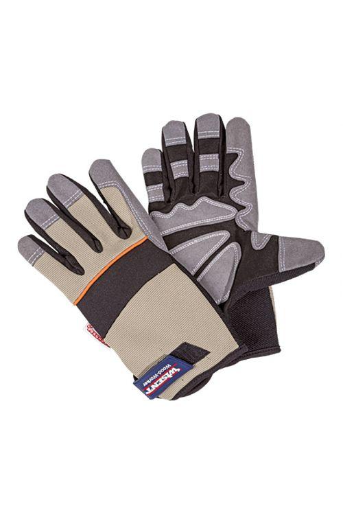 Delovne rokavice Wisent Wood Worker (velikost: 10, bež-siva)