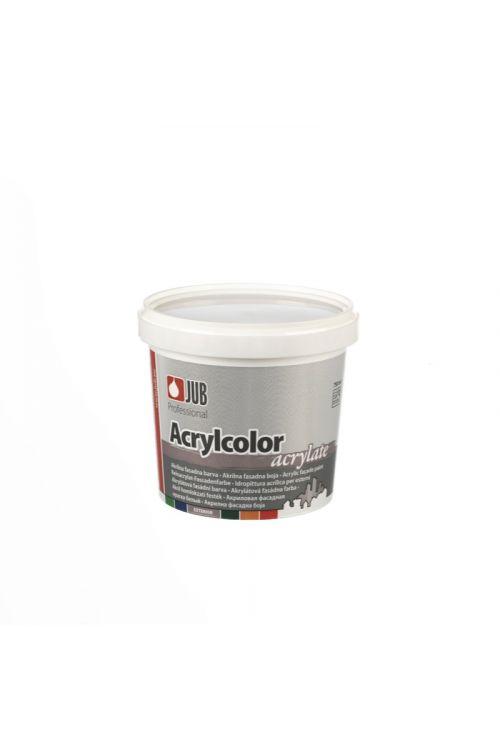 Bela fasadna barva JUB ACRYLCOLOR 1001  (750 ml, za barvanje trdih in suhih finih ometov na fasadnih in notranjih stenskih površinah, vodoodbojna, dobro pokrivna, enostavna za nanašanje)