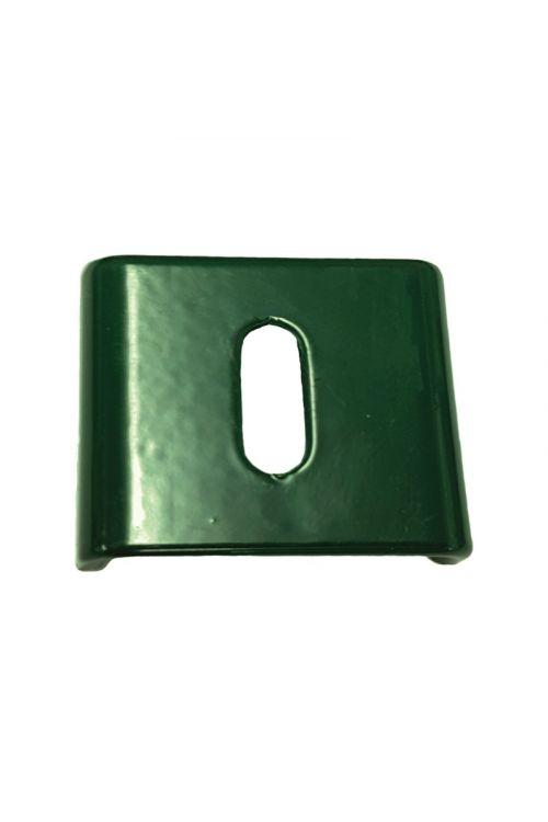 Objemka za steber (50 x 50 mm, kov. zelena, 4/1)