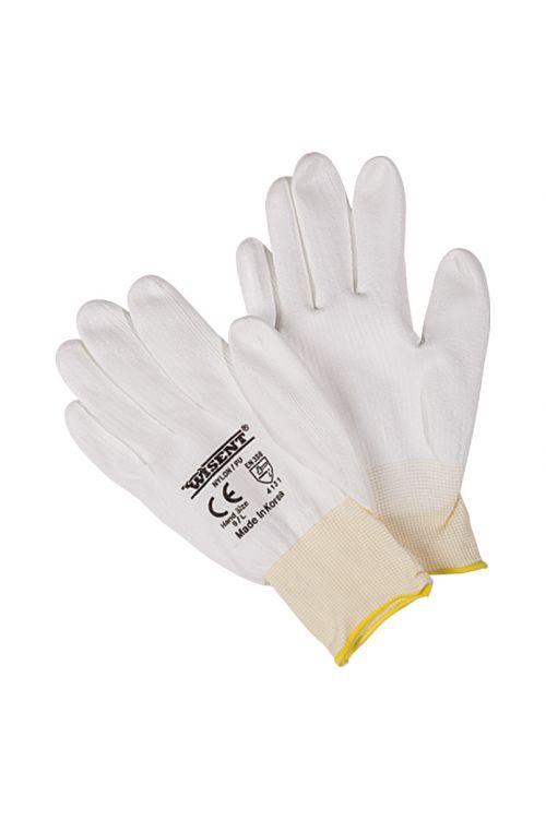 Delovne rokavice Wisent (velikost: 9, bele, 5 parov)