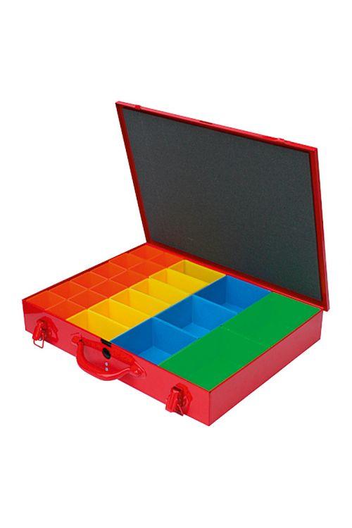 Organizator BAUHAUS Systembox (število predalov: 23, rdeč)