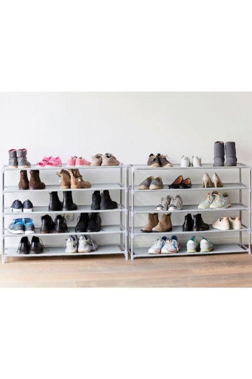 Stojalo za čevlje (10 polic, 174 x 100 x 28 cm)