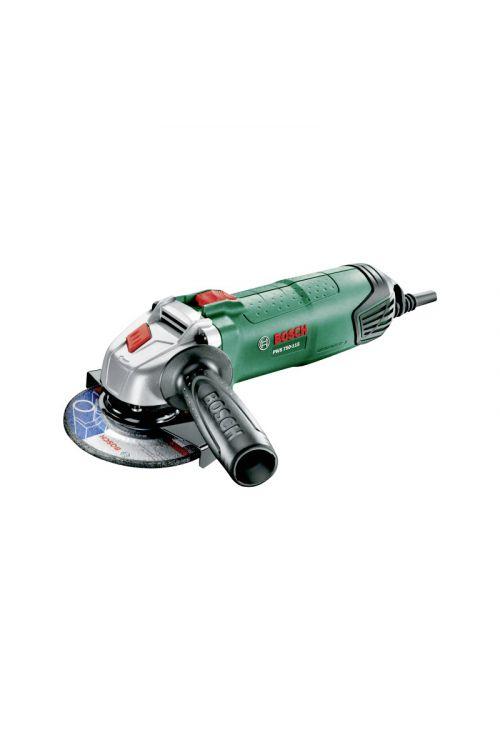 Kotni brusilnik Bosch PWS 750-115 (750 W, premer plošče: 115 mm, 12.000 vrt./min)