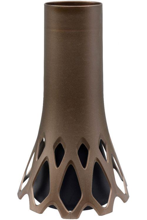 Nagrobna vaza ROSETA (velika, obtežena, v bronasti barvi)