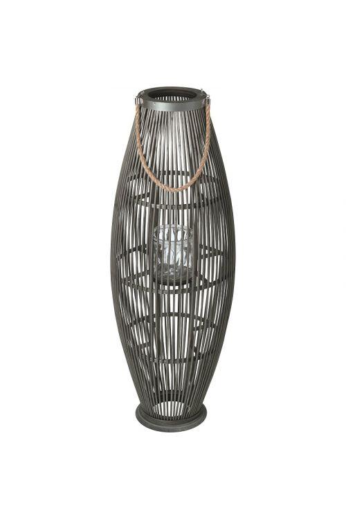 Laterna iz ratana (34 x 34 x 95 cm)