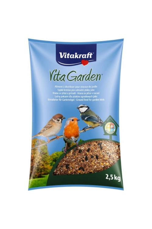 Hrana za ptice Vitakraft Vita Garden (2,5 kg)