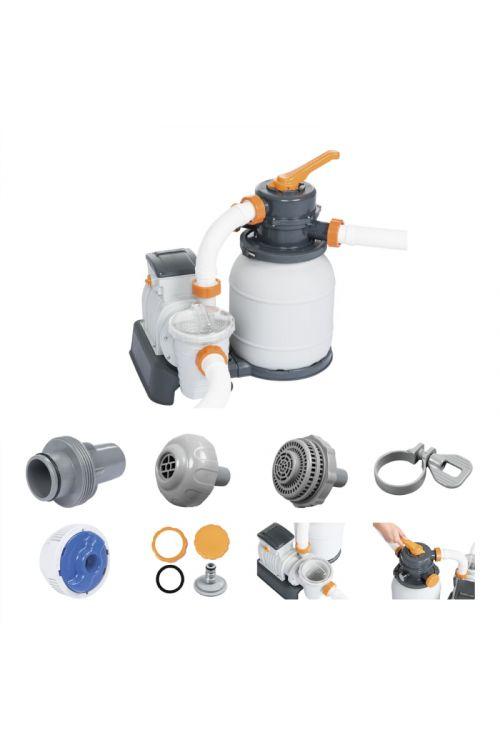 Filtrska črpalka Flowclear (kapaciteta 5.678l/h, za bazene do 42.000 l, ščiti pred algami, integrirana vklopna ura)