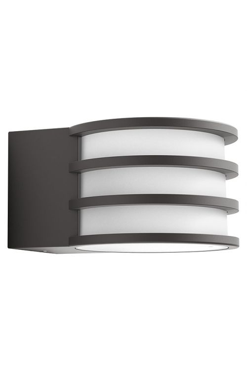 Zunanja stenska LED svetilka Philips Hue Lucca (9,5 W, toplo bela, IP44)