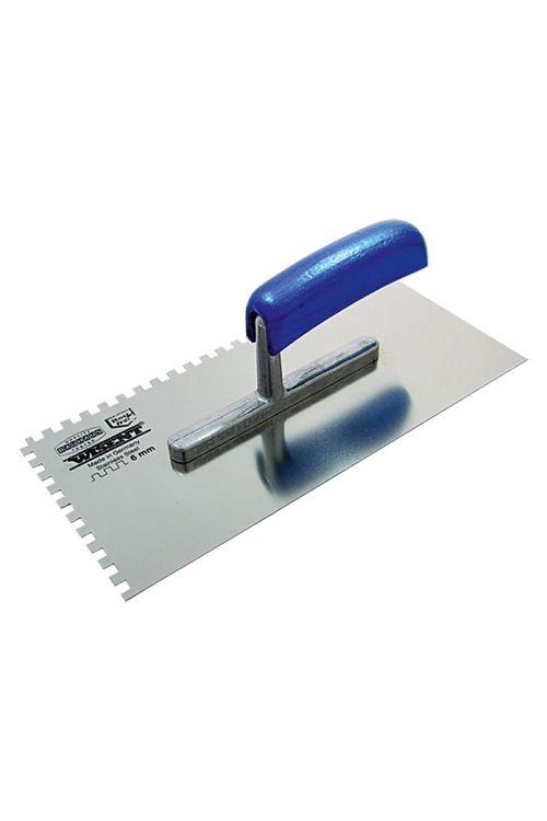 Ozobljena zidarska žlica Wisent (6 x 6 mm, nerjavno legirano jeklo)