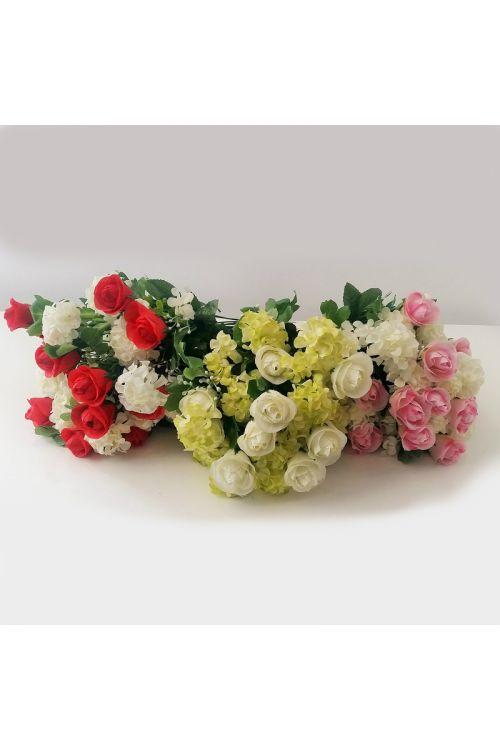 Šopek umetnega cvetlja (mešano cvetje)