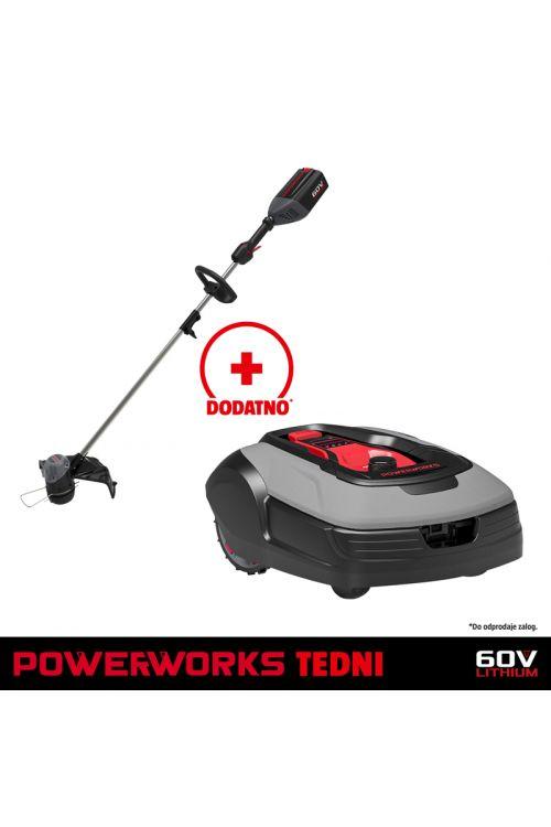 Robotska kosilnica Powerworks P15 (24 V, 2 Ah)