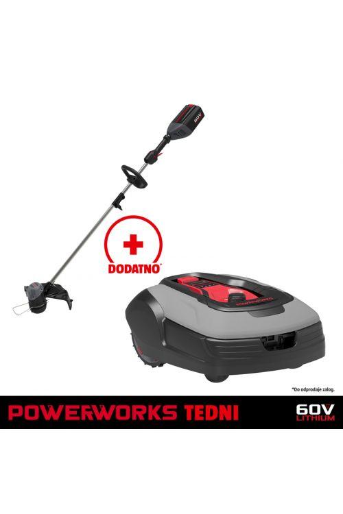 Robotska kosilnica POWERWORKS P10 (24 V, 2 Ah)