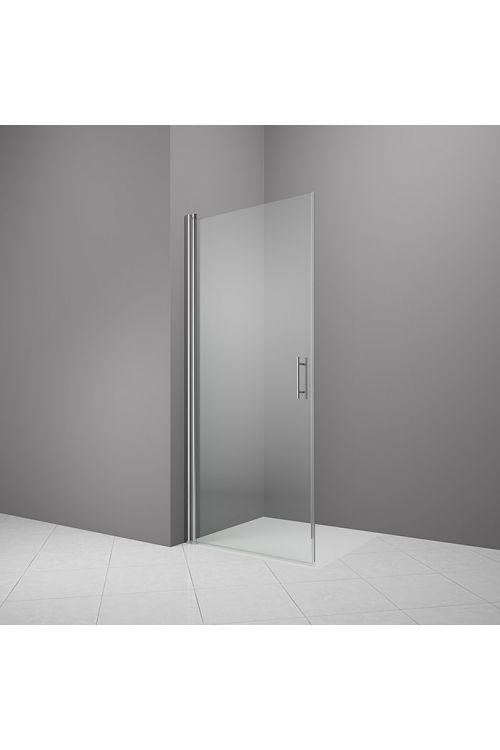 Tuš vrata Camargue Vario S3 (90 x 195 cm, srebrni profili, steklo: 6 mm, premaz WonderClean)