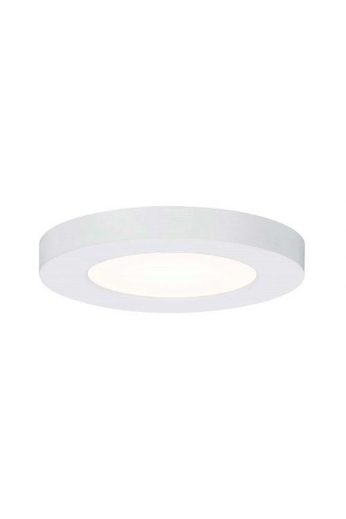 LED VGRADNA SVETILKA (12 W, 1.400 lm, 3.000 K, IP21, premer 16,5 cm, bela)