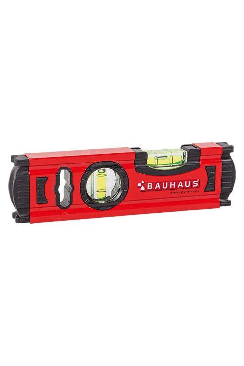Vodna tehtnica BAUHAUS (20 cm, aluminij, rdeča)