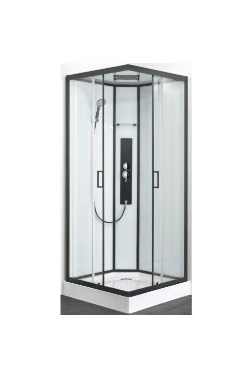 Kompletna kvadratna tuš kabina Sky (90 x 90 x 225 cm, steklo 5 mm)