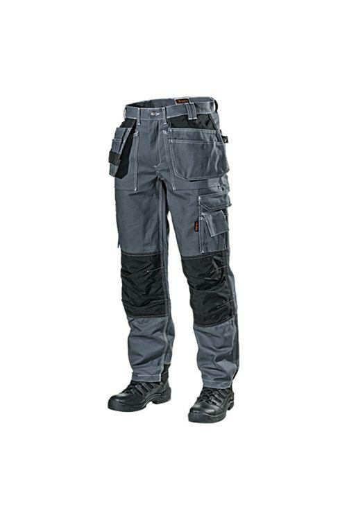 Delovne hlače L.Brador 101B (sive, velikost: 50, 100 % bombaž)