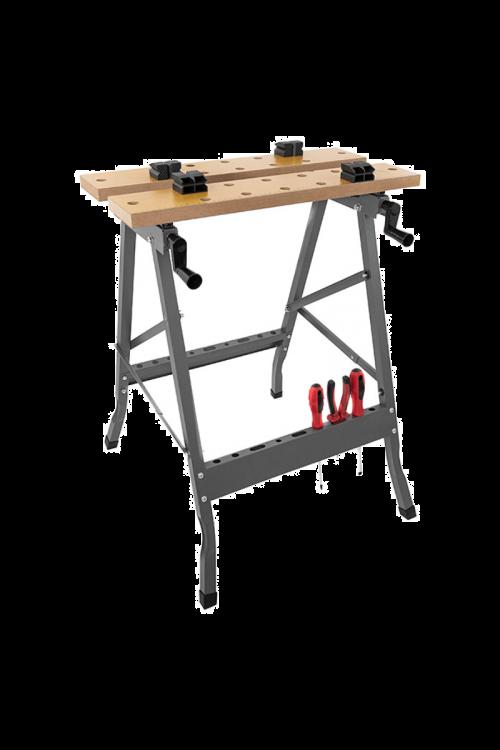 Zložljiva miza (60,5 cm x 63 cm x 76 mm, nosilnost: 150 kg)