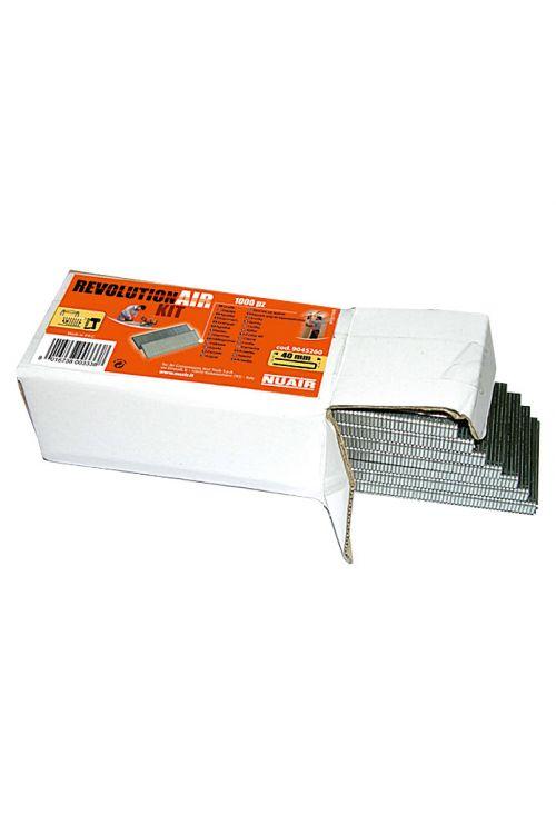 Žične sponke Craftomat (dolžina: 40 mm, hrbtna širina: 5,7 mm, 500 kosov)