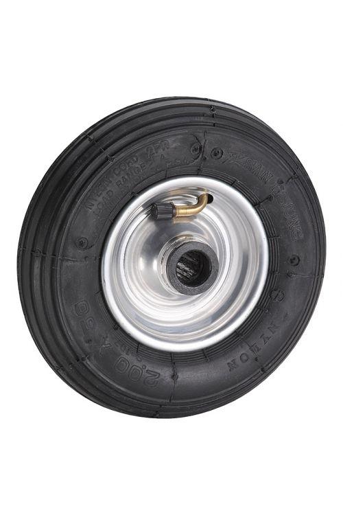 Zračno kolo Dörner & Helmer (premer: 200 mm, nosilnost: 75 kg, jeklena pločevina, širina platišča: 60 mm)
