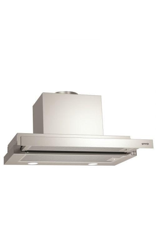 Izvlečna kuhinjska napa Gorenje BHP 623 E13X  (60 cm, pretok zraka do 639 m³/h, legirano jeklo)