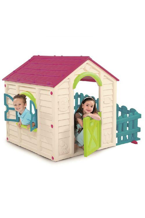 Otroška hiška Keter My garden house (155 x 118 x 117 cm, umetni material)