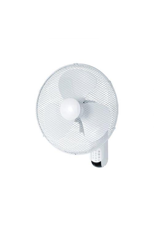 Stenski ventilator 40 cm (moč 50 W, tri hitrosti, z daljinskim upravljalnikom)