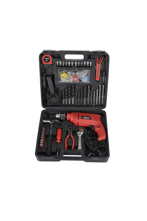 Vibracijski vrtalnik Iskra GX-BMC002 + set orodja (500 W, 0–3.000 vrt./min)