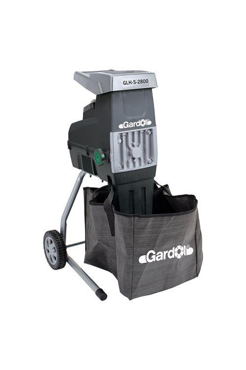 Električni drobilnik vej Gardol GLH-S-2800 (2,8 kW, maks. debelina vej: 4,5 cm)