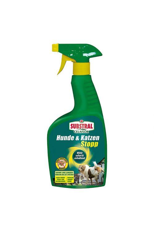 Odganjalec psov in mačk Substral Ceaflor (500 ml, z vonjem evkaliptusa, za celoletno uporabo)