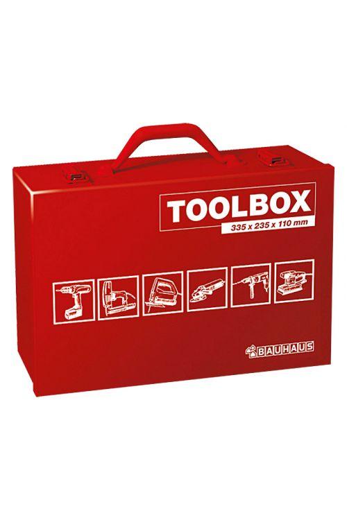 Kovček za orodje BAUHAUS (33,5 x 23,5 x 11 cm, primeren za: električna orodja, jeklo)