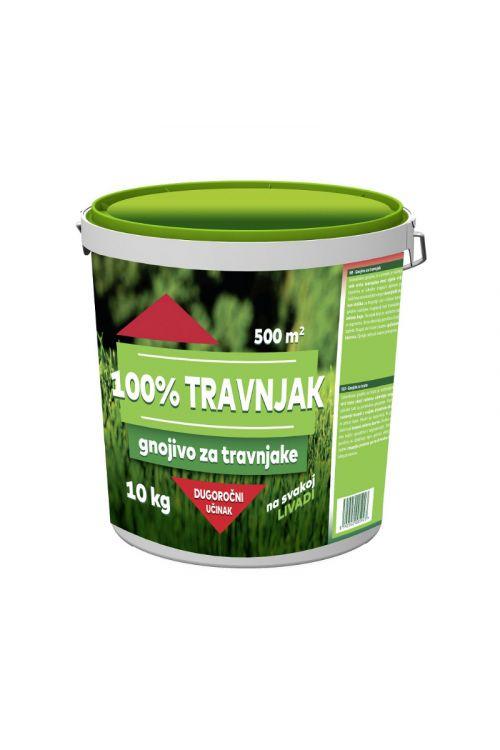 Gnojilo za trato 100% Travnik (10 kg, za ca. 500 m²)