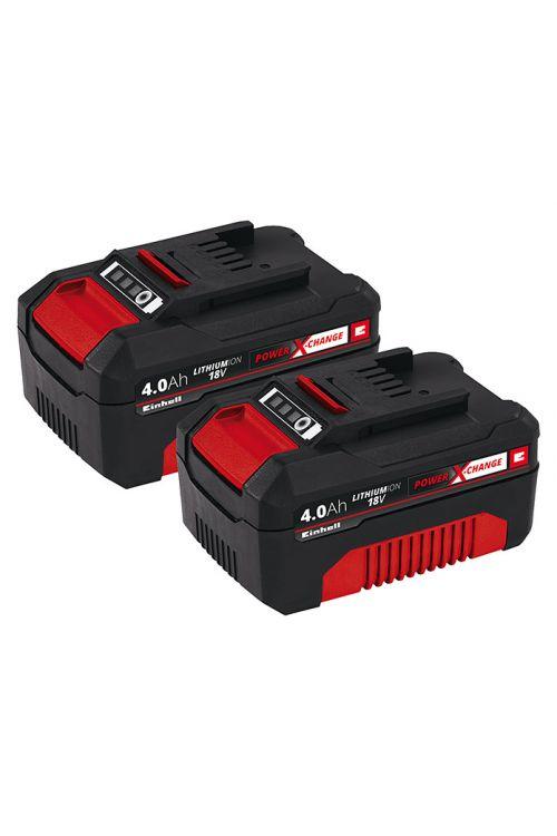 Baterija Einhell Power X-Change (18 V, 4.0 Ah, 2 kosa)