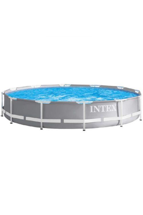 Montažni bazen Intex Prism Frame Set (Ø x v: 366 x 76 cm, filtrska črpalka: 2.006 l/h)