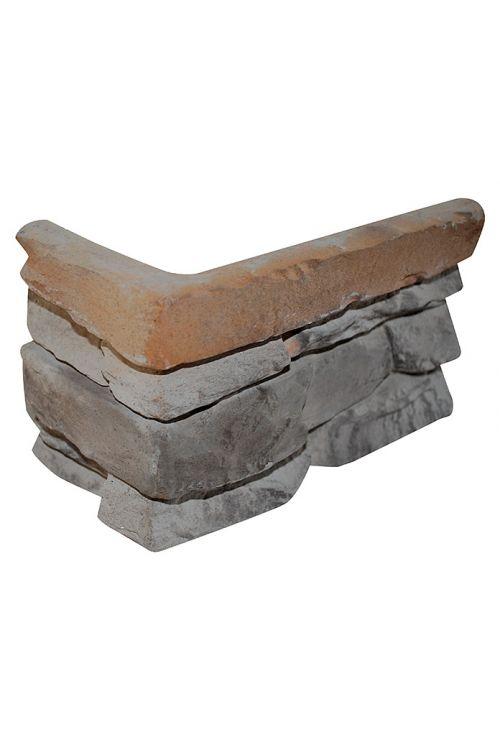 Kotna ploščica Ironmont (7,7 x 17,6 x 11,2 cm, rjava, imitacija kamna)