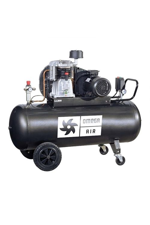 Batni kompresor PROAIR JPN 410/200 (2.200 W/ KM, 10 barov, 200 l)