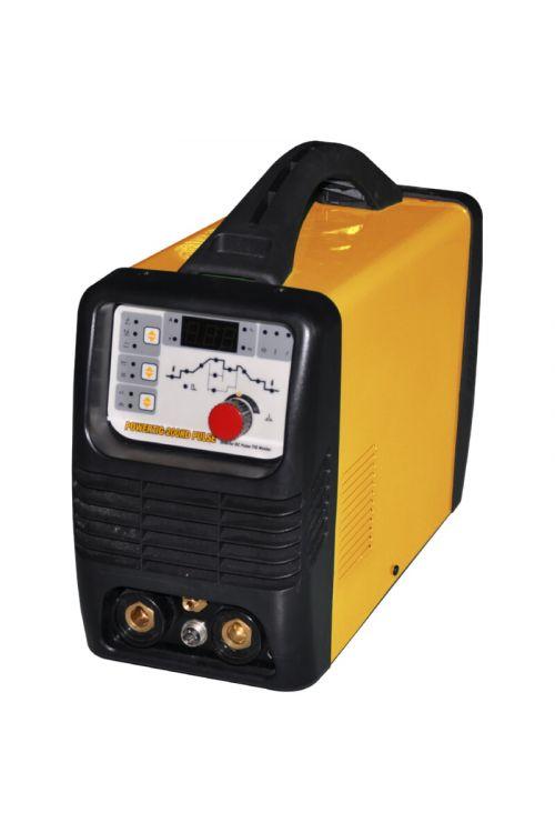 Varilni aparat HUGONG POWERTIG 200DP III PULSE (Varilni tok: TIG 5–200 A, debelina elektrode:1,6–4 mm)