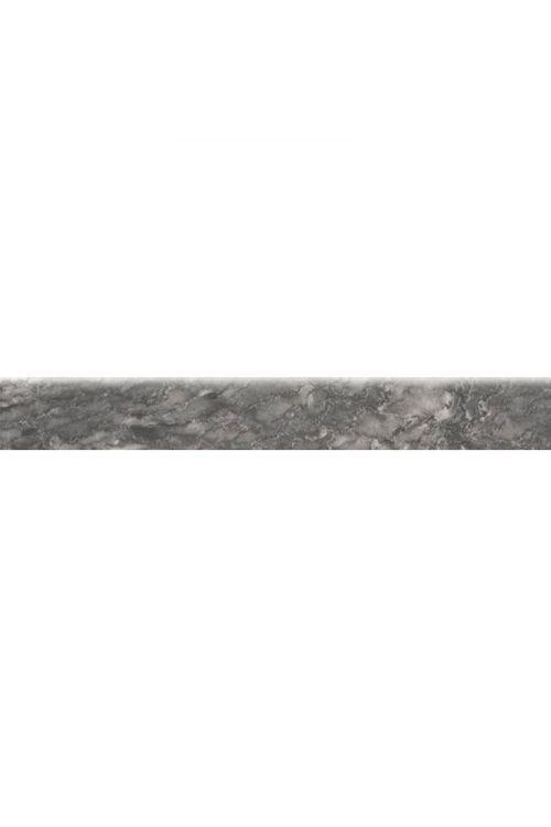 Robna ploščica Domino Soft (8,3 x 60 cm, črno-bela)