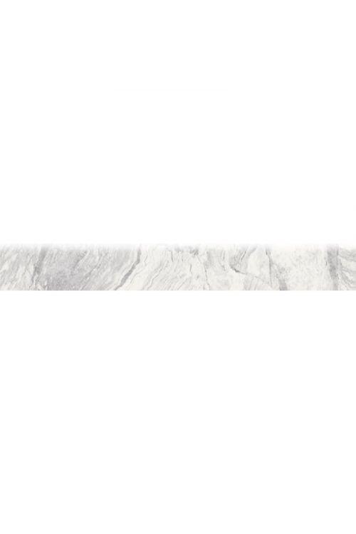 Robna ploščica Domino Soft (8,3 x 60 cm, sivo-bela)