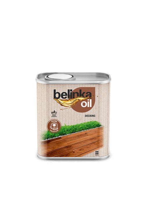 Olje za les BELINKA 201 NATUR  (750 ml, zaščita zunanjih pohodnih površin, vrat in vrtnega pohištva)