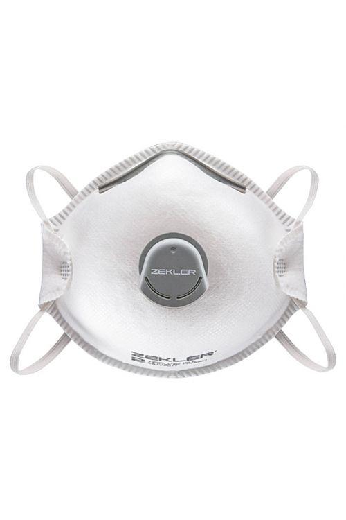 Zaščitna maska za dihala Zekler 1302V (FFP 2V, 10 kosov)