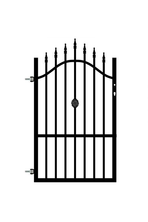 Ograjna vrata Polbram Rose (90 x 130-150 cm, leva, pocinkana)