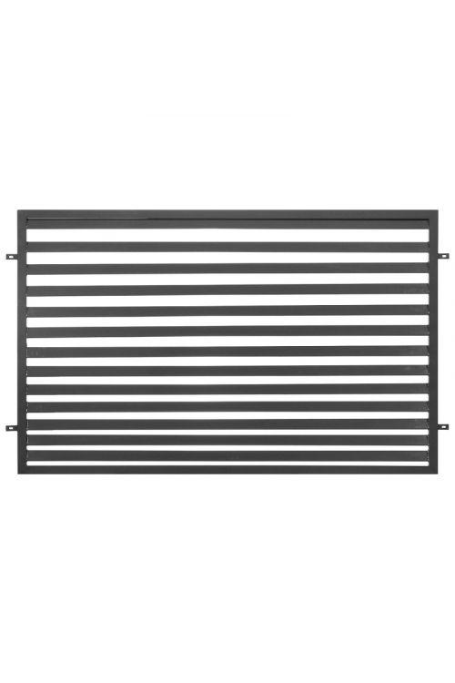 Ograjni panel Polbram Selena (200 x 3 x 120 cm, pocinkana)