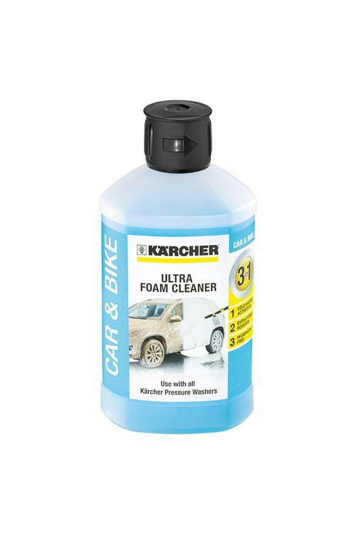 Čistilo Kärcher Ultra Foam Cleaner 3-v-1 (za vozila in kolesa, 1 l)