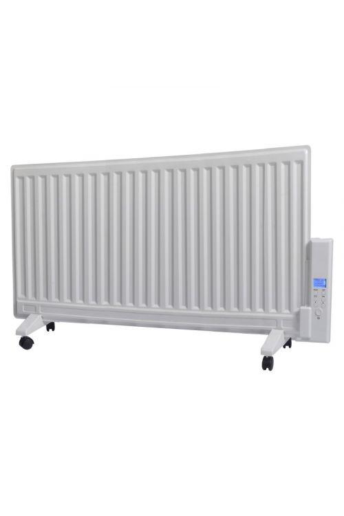 Oljni radiator VOLTOMAT HEATING (s časovnikom, 1000 W, bele barve)