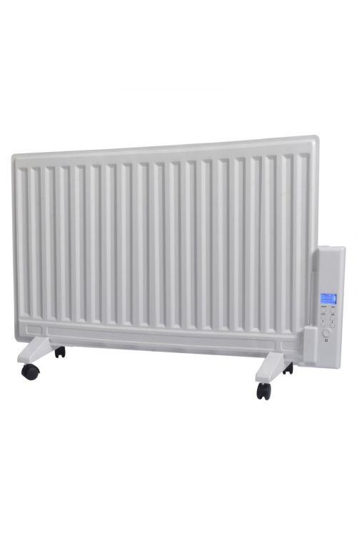 Oljni radiator VOLTOMAT HEATING (s časovnikom, 800 W, bele barve)